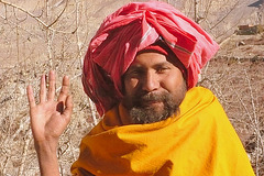 Saddhou de Muktinath
