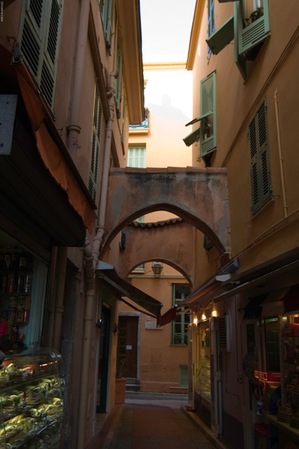 the old town of Monaco