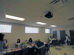 Henry Vellore Lozano, USMCR, Community Center interior (8779)