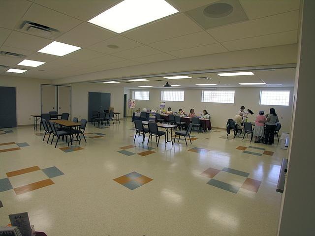 Henry Vellore Lozano, USMCR, Community Center interior (8783)