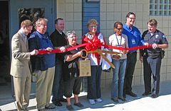 Ribbon Cutting for the Henry Vellore Lozano, USMCR, Community Center (4795)
