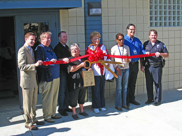 Ribbon Cutting for the Henry Vellore Lozano, USMCR, Community Center (4796)