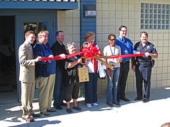 Ribbon Cutting for the Henry Vellore Lozano, USMCR, Community Center (4799)