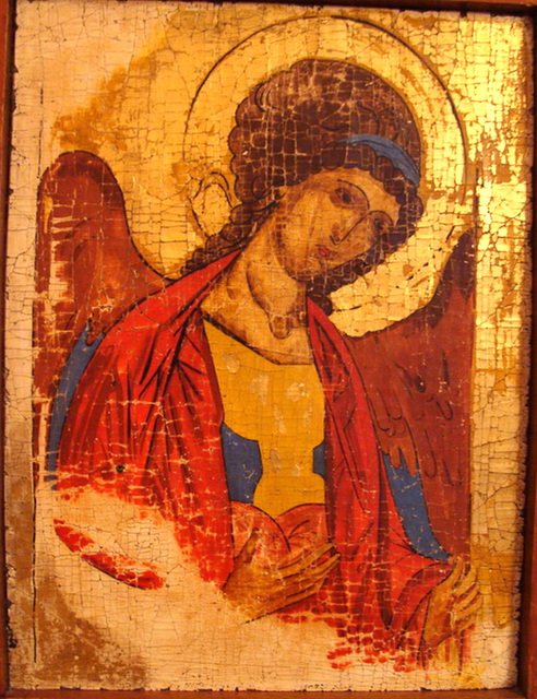 Icône de l'Archange Michel - XVième siècle. MOSCOU.