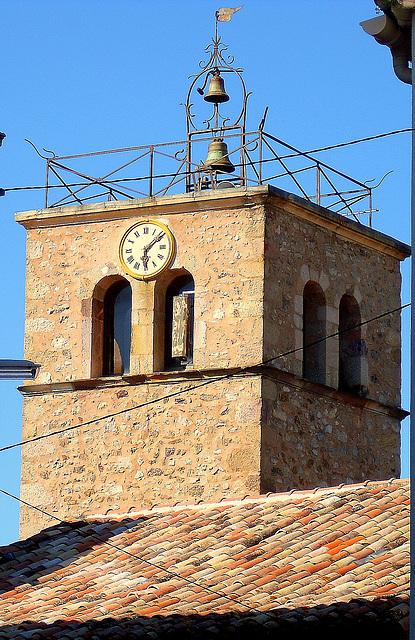 clocher et campanile