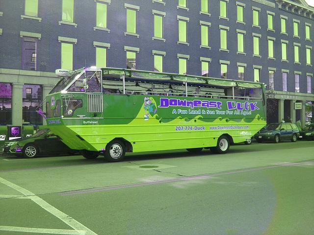 Downeast duck tours magic bus  / Inversion RVB
