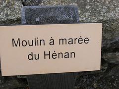Moulin à marée du Hénan