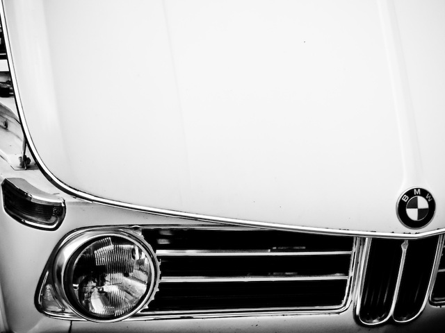 BMW 2002 (Black & White version)