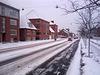 White winter in Esbjerg!