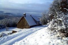 """La """"petite maison"""" sous le neige"""