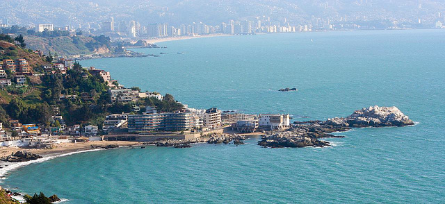 Maravillosa Vista Costera de Viña del Mar
