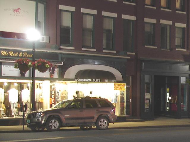 Rutland , Vermont USA / États-Unis.  Juillet 2009 -  Summer sale - vente estivale.