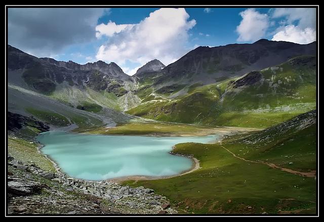 Le lac blanc / The white lake