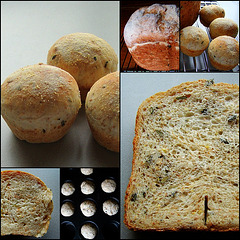 (J.S. 9) Boerenbrood met courgette en pitten