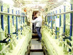 inside a submarine / im U-Boot Museum Laboe