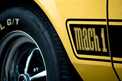 1973 Ford Mustang MACH 1 351 Ram Air - Details of marking side