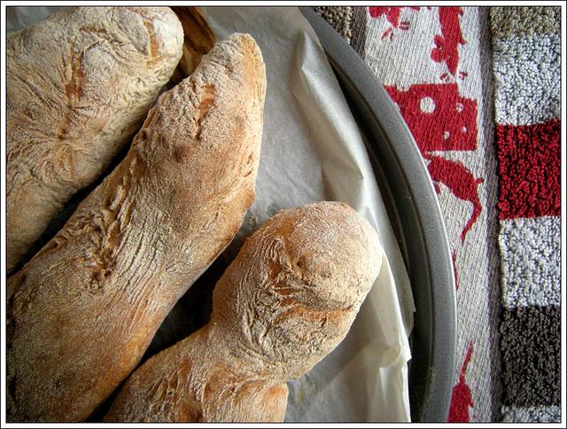 Premières baguettes