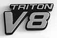 Triton V8 emblem