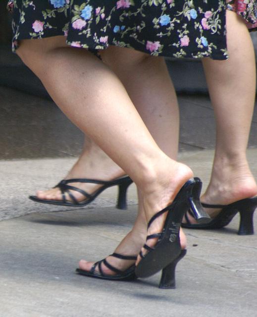 street shot: BP sandals butterflyx2