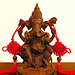PICT7776ac Bronze and Copper Statue of Hindu God Ganesh