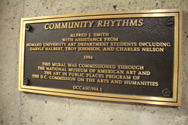 03.CommunityRhythms.AlfredJSmith.WMATA.UStreet.WDC.19Sep2009