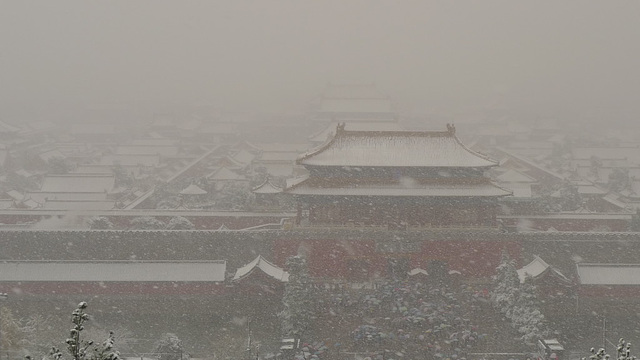 Snowing Over Forbidden City III.