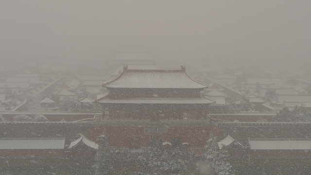 Snowing Over Forbidden City IV.
