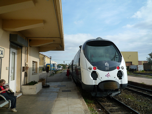 Le train de CORSE CFC en 2009