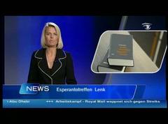 Berna televido pri SFERO 2009