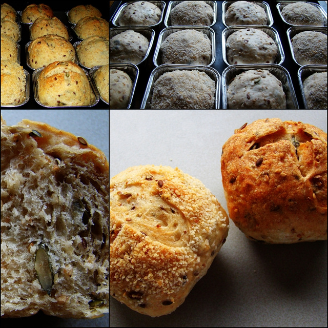 Nachgebacken: Bäcker Süpke's körnige Joghurtbrötchen
