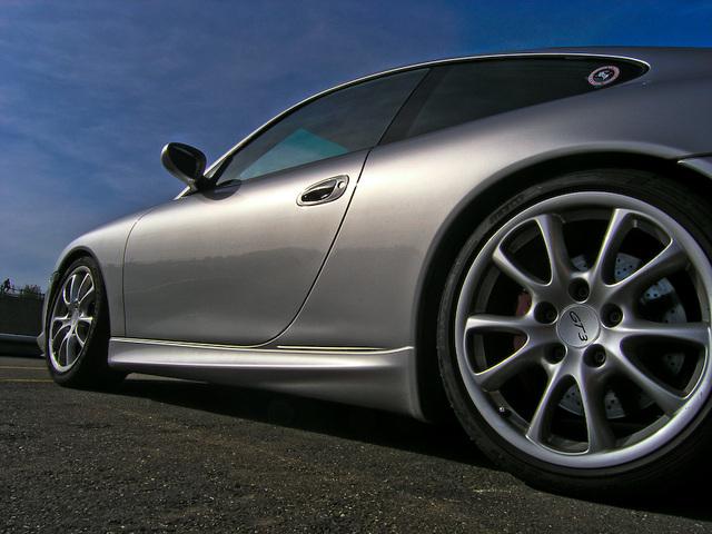 Porsch 911 GT3 in Nogaro