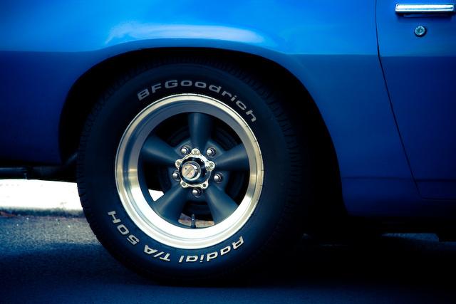 American Racing on Camaro Z28
