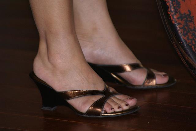 calllisto wedge sandals (F)
