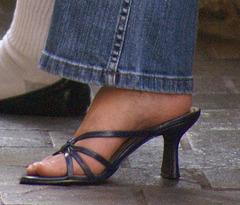 BP butterfly sandals