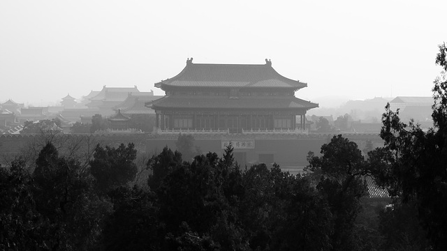 Forbidden city from north