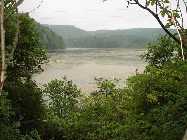 Half moon state park. Sur la 4 près de la 30 nord. Vermont, USA /  États-Unis -   26 juillet  2009 -   Photo originale