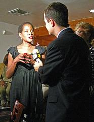 Nathan Baca Interviewing Jan Pye (4694)
