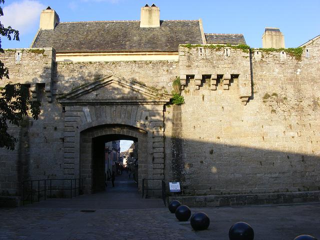 les remparts de Concarneau