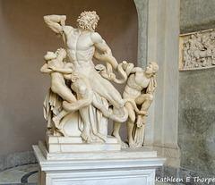 Rome Vatican Museum Laocoon Sculpture 052314-005