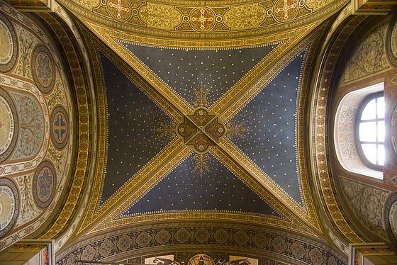 Kloster Marienthal   Gewölbe