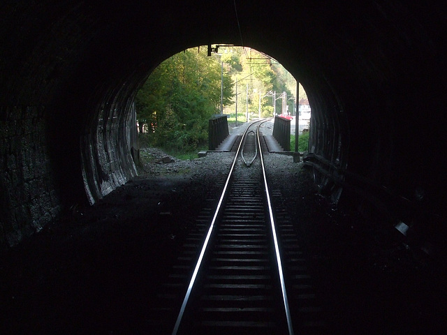 Tuneleto antaŭ Vrbovsko