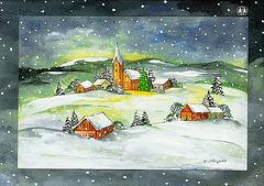 Flokaro, blankaro  (vintrokanto) Schneeflöckchen, Weißröckchen  (Winterlied)