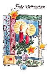 kristnasksaluto - Weihnachtsgruß