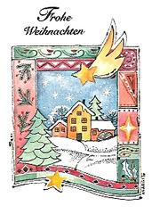 Ĝojigan Kristnaskon! Frohe Weihnachten!