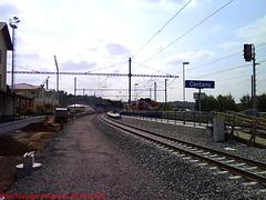 New Platform Looking South, Nadrazi Cercany, Cercany, Bohemia (CZ), 2009