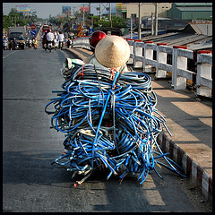 Bikes of burden........