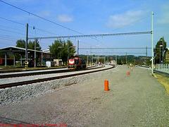 New Track Construction at Nadrazi Cercany, Cercany, Bohemia (CZ), 2009