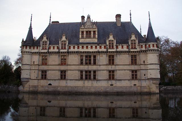 Chateau Azay le rideau  (face)