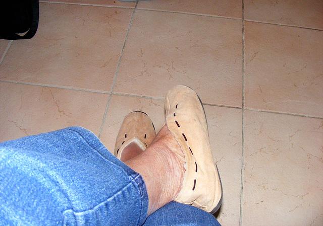 Petits pieds bien au chaud  / Feel the heat !