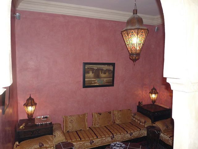 le salon du riad